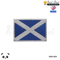 Scotland National Flag Embroidered Iron On Sew On Patch Badge For Clothes etc