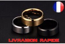 Ring Men Titanium Black Silver Gold Jewelry Gift Idea Fashion Wedding Ring