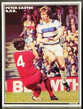 FOOTBALL PLAYER PICTURE PETER EASTOE QUEENS PARK RANGERS SHOOT