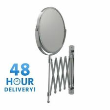 WALL MOUNTED MIRROR BATHROOM COSMETIC SHAVING MIRROR MAGNIFYING MAKEUP IKEA