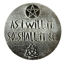 "Gothic Pagan Wicca Celtic mold decorative stepping stone mould 7.75"" x 3/4"""
