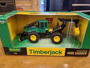 Ertl 1/50 15684 Timberjack 460D  Log Skidder New in Box