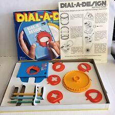 Rare Vintage 1979 HASBRO DIAL-A-DESIGN Dial A Design Spirograph Original Box