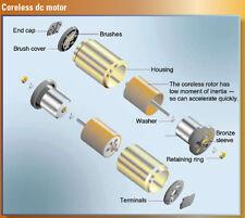 NEW  Miniature Micro FAULHABER DC Motor 6VDC 0.2A W/ Dual Air Pump German Motor