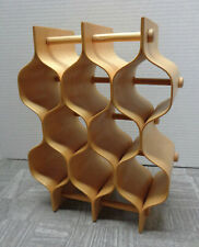 Rare Torsten Johansson for AB Formtra Bent Wood Honeycomb Spice Rack!