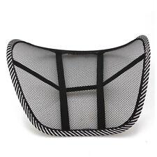 Mesh Lumbar Back Brace Support Chair Cushion Seat Waist Pillow Posture Corr G2F7