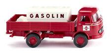 WIKING Modell 1:87/H0 LKW Pritschen-Lkw m. Aufsatztank MB LP 321 Gasolin #043804