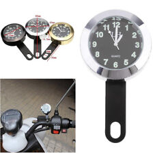 1PCS Waterproof Motorcycle Handlebar Dial Clock Mount For Harley Honda Suzuki