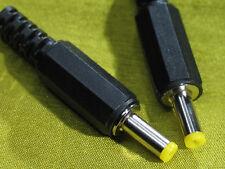 2 X AC/DC  Stecker zum löten , 4,0-1,7 mm , 11mm Schaft für Reparaturen
