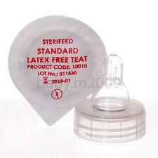 10 x sterifeed MONOUSO SENZA LATTICE STANDARD TETTARELLA CON CESTINO lavastoviglie libera