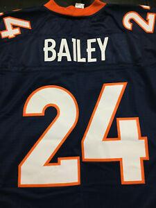 NFL HOF Champ Bailey #24 Denver Broncos Reebok On Field Jersey Men's XL NWT