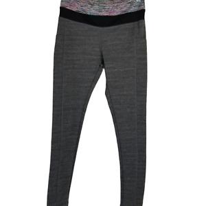 Take a Walk Women's Active Yoga Walking Leggings Black/Pink Multi Small Pockets