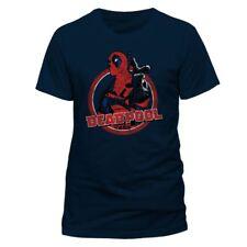Deadpool T-shirt Logo Point Size L CID shirts
