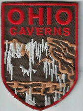 Ohio Caverns West Liberty Ohio Souvenir Cave Patch