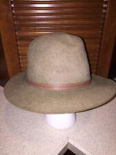 Stetson Cabela's Royal Stetson Three Forks Felt Hat Size 7 3/8 Used Great Hunter