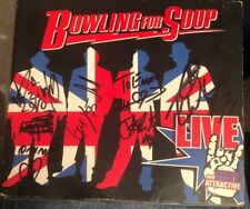 CD DVD Music 3 Disc Bowling For Soup Live And Very Attractive Autographed