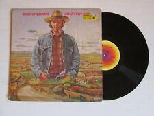 DON WILLIAMS Country Boy LP USA PRESS COUNTRY FOLK NO CD