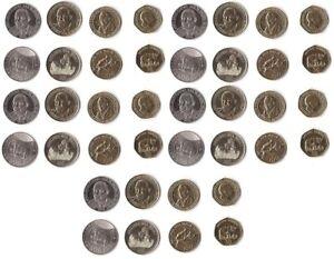 Tanzania - 10 pcs x set 4 coins 50 100 200 500 Shilingi 2014 - 2015 UNC