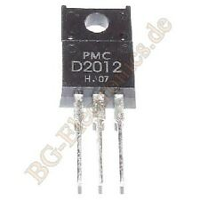 2 x 2sd2012 NPN triple diffused type (Audio FREQUENCY power pmc to-220f 2pcs