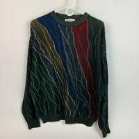 Vintage 90's St Croix Shop Multicolor Sweater V-Neck Mens Large Made in USA