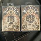 2-Decks Bicycle Craft Beer Playing Cards Celebrating 53 Brewmasters New Sealed