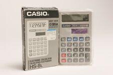 Vintage Casio Calculator, HS-8L