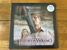 A History Of Violence Vinyl - Howard Shore - BLUE / BLACK Vinyl Numbered 52/500