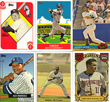"""2007  """"TOPPS""""  WAL-MART  SERIES #1&2  COMPLETE SET  1-36"""