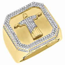 Christ Gelbgold Ring mit Diamanten