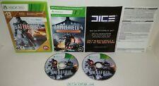 Battlefield 4 for Xbox 360 (Walmart China Rising Version) Nice Complete CIB NTSC