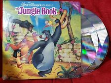 The Jungle Book Laser Disc LD Walt Disney Original Classic LaserDisc Movie