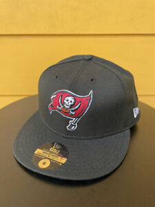 NEW VINTAGE TAMPA BAY BUCCANEERS NEW ERA 59FIFTY FITTED CAP HAT BLACK