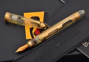 OMAS Ogiva Vision Bronze Demonstrator Special Edition Fountain Pen, 18k M Nib