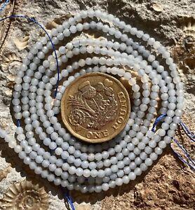 Angelite - Semi Precious  Gemstone Beads - 39cm Strand  Jewellery Making