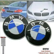 LOGO EMBLEME SIGLE BMW BLEU & BLANC 82mm CAPOT / COFFRE M PERFORMANCE FR