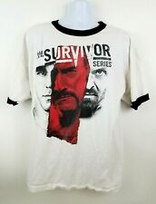 WWE Survivor Series 2012 Authentic Wrestling Event T Shirt Mens Sz 2XL Indiana