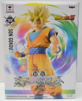 *USA Dragonball Kai Banpresto Son Goku Super Saiyan 25cm Figure New paint ver.