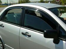 Suzuki Aerio Sedan 2002 - 2007 Tape-On Wind Deflector Vent Visor Shades 4pc