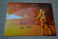Neil Bishop Signed Autograph 20x25 In Person STAR WARS flametrooper