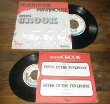 GENERAL CROOK - Fever In The Funkhouse French PS 7' Killer Funk 74'