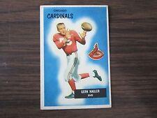 1955 Bowman # 127 Gern Nagler Card Chicago Cardinals