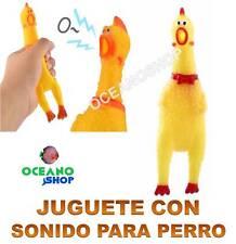 JUGUETE SONIDO POLLO 16 CM ADIESTRAMIENTO ENTRETENIMIENTO PERRO MASCOTA D32 3155