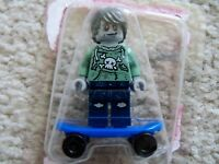 Lego Zombie Skateboarder col227 Collectible Minifigure Figurine Personnage New