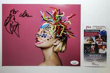 SIA Furler Signed 'We Are Born' Album Cover 8x10 Photo JSA