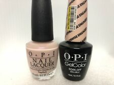 Opi Gelcolor + Matching Gel Polish Otherwise Engaged (Nl H33 / Gc H33)