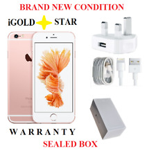*BRAND NEW CONDITION*Apple iPhone 6s - 16GB - Rose Gold (Unlocked)*SEALED BOX *