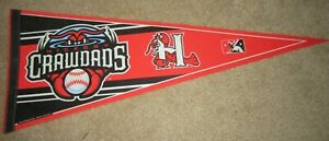 SAL Hickory Crawdads Baseball Team Pennant