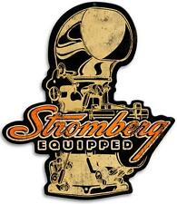Hot Rod Drag Race Stromberg Metal Sign Man Cave Garage Body Shop Club STRM005