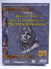 PC juego-Baldur 's Gate Add on-las leyendas de la costa espada (con embalaje original) (Bigbox)