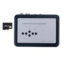 Q81 Kassette zu mp3 Konverter Rekorder tape to mp3 Musik Player über micro SD/TF